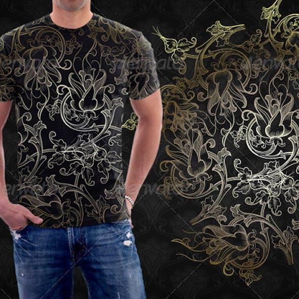 Floral Arabesque Tshirt