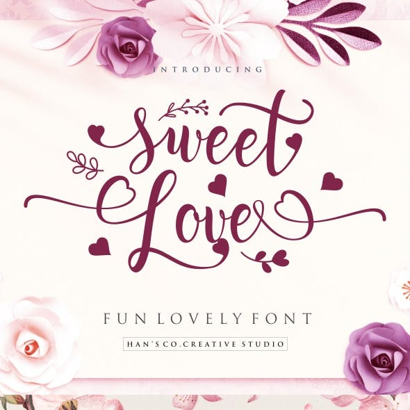 Sweet Lovely Font