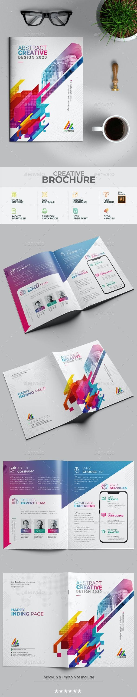 Modern Bi-Fold Brochure - Brochures Print Templates