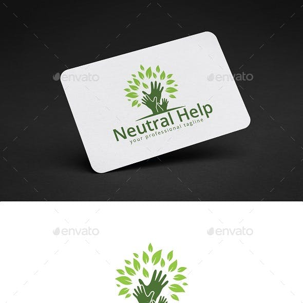 Neutral Help Logo Design