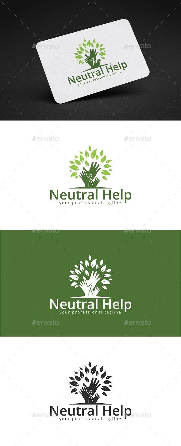 Neutral Help Logo Design - Nature Logo Templates