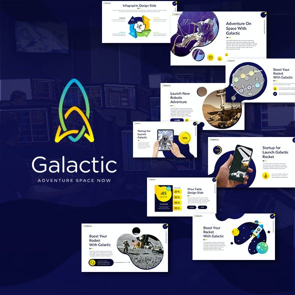 Galactic Space Presentation Template