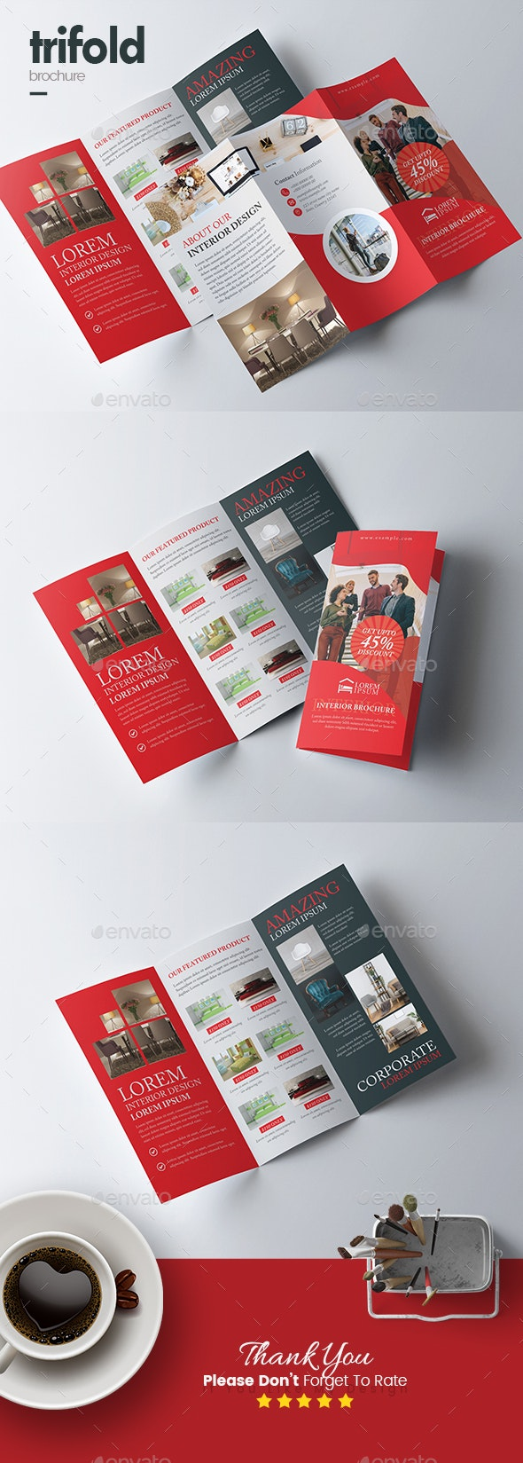 Product Trifold Brochure - Corporate Brochures