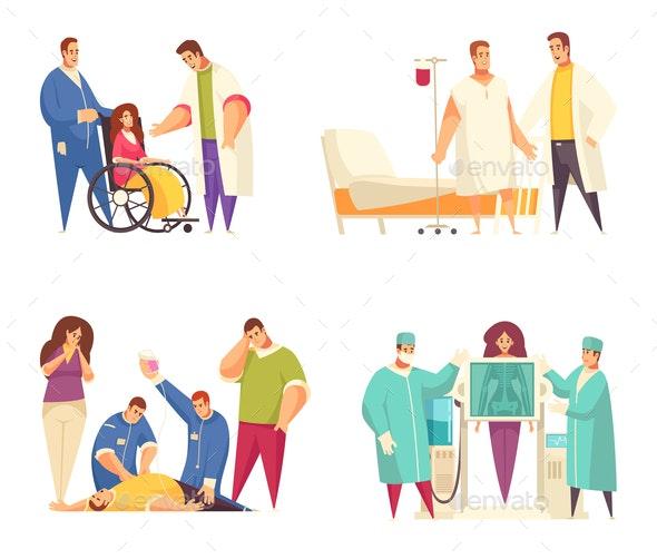 Medical Design Concept Set - Miscellaneous Vectors