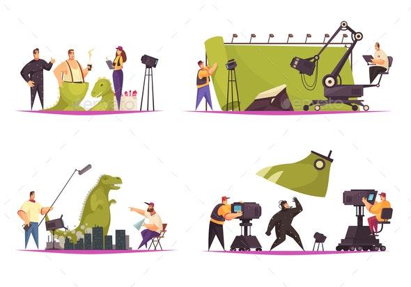 Cinema Movie Concept - Business Conceptual