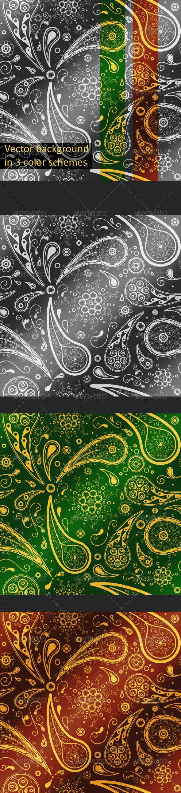 Paisley Seamless Pattern - Patterns Decorative