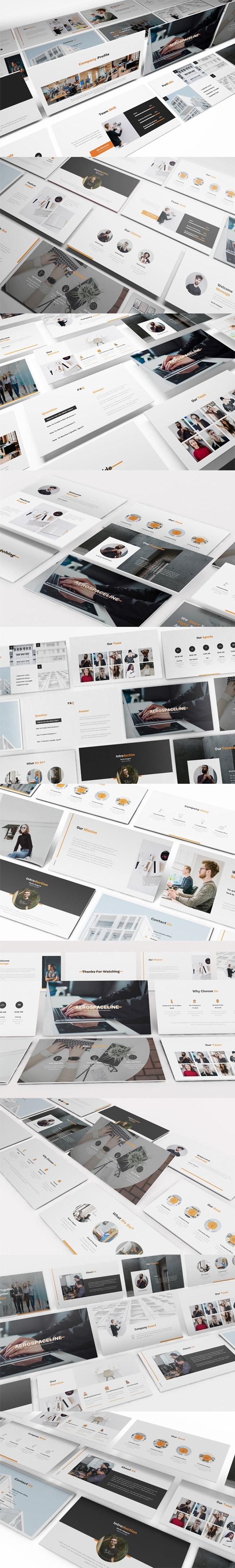 Pitch Deck Google Slides Presentation - Google Slides Presentation Templates