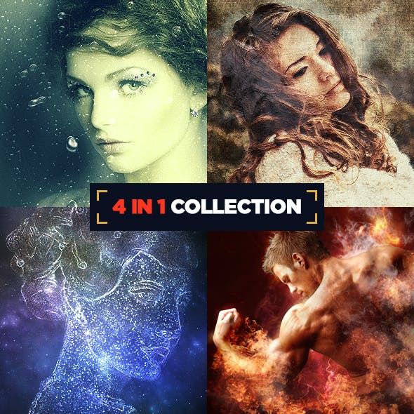 4 in 1 Collection CS3+