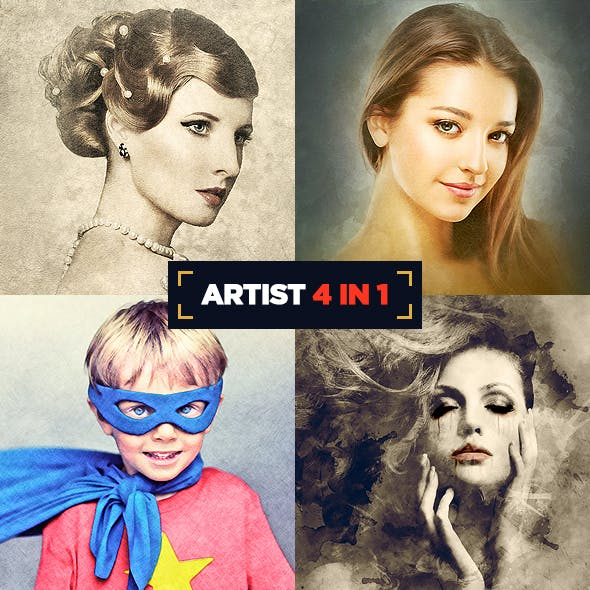 Artist 4 in 1 Bundle CS3+