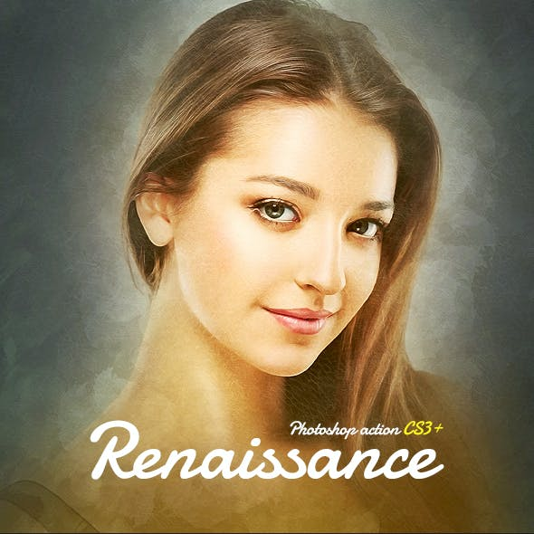 Renaissance CS3+ Photoshop Action