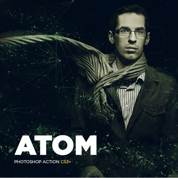Atom CS3+ Photoshop Action