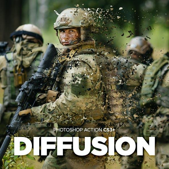 Diffusion Photoshop Action CS3+
