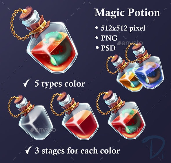 Potion - Miscellaneous Game Assets