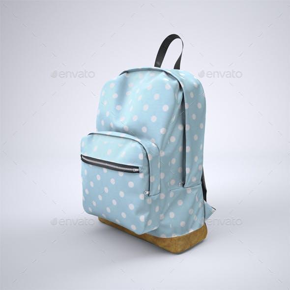 Backpack Rucksack Mock-Up