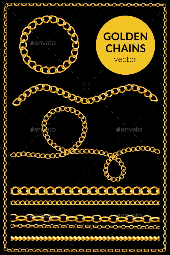 Golden Chains Flat Set - Industries Business