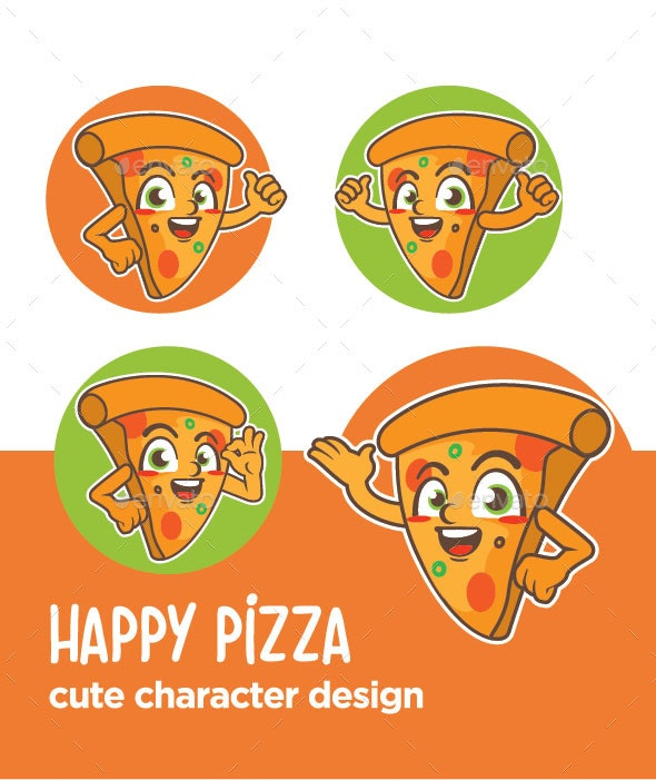 Pizza Mascot - Miscellaneous Characters