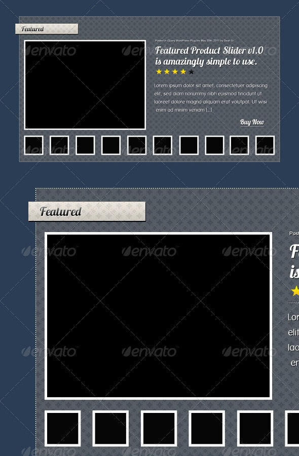 Featured Slider - Sliders & Features Web Elements