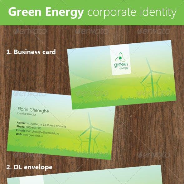 Green Energy Corporate Identity