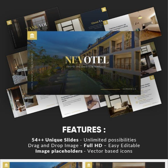 Nevotel - Luxury Hotel Powerpoint Template