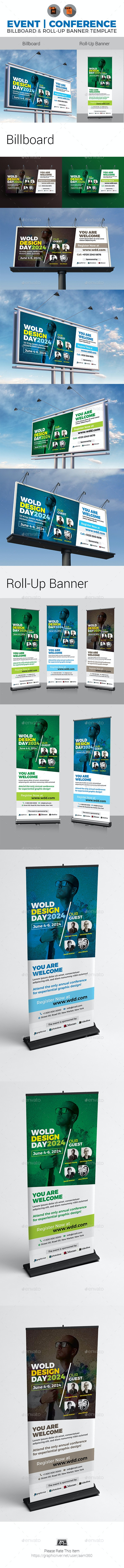 Conference Signage Bundle - Signage Print Templates