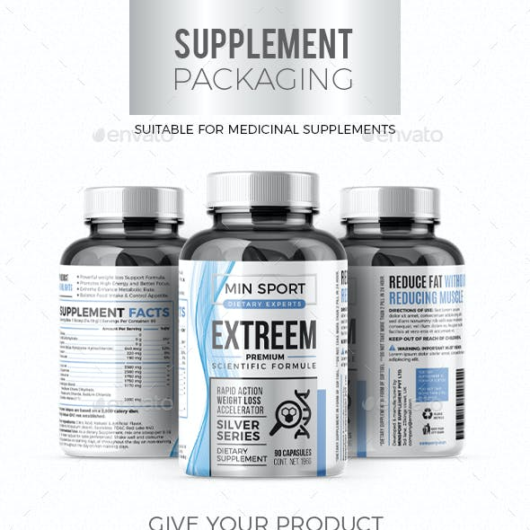 Weight Loss Supplement Packaging #3