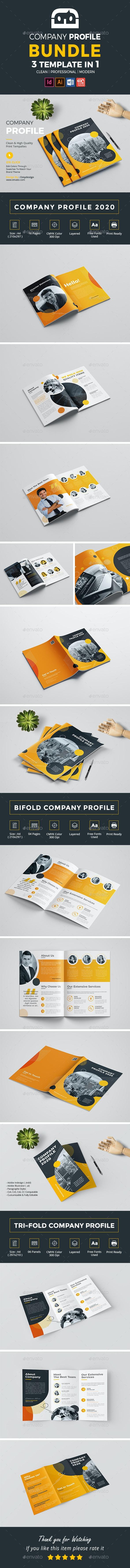 Company Profile Bundle - Corporate Brochures