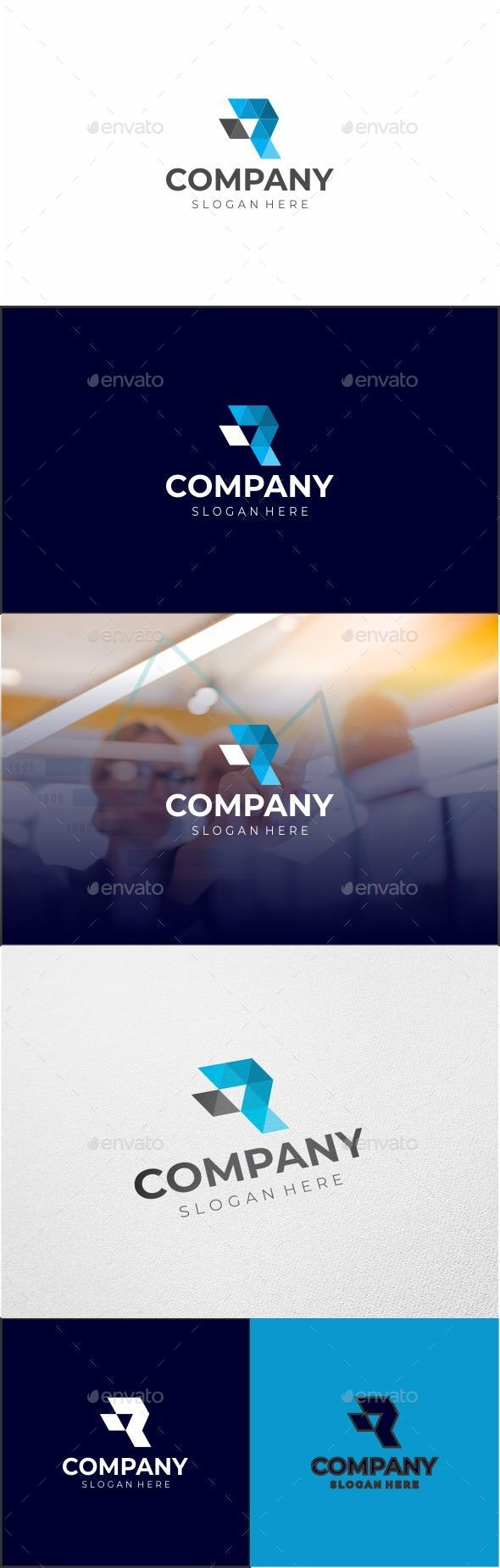 R logo - Letters Logo Templates