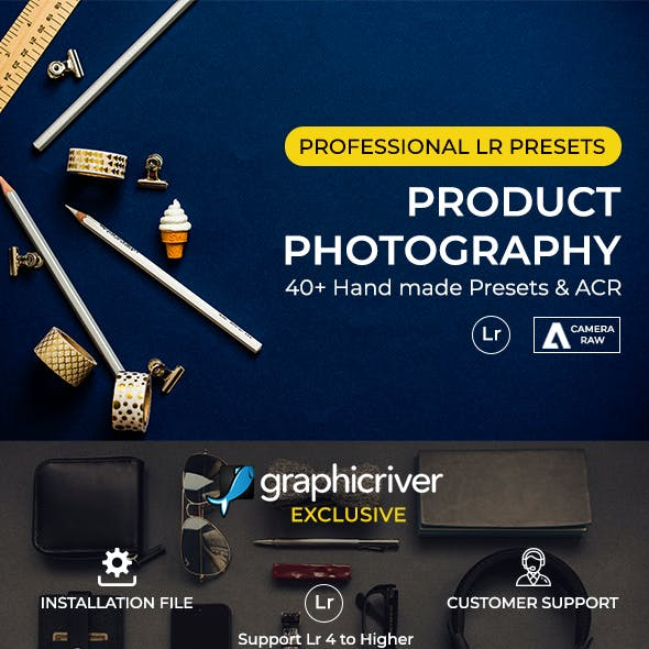 Product Photography Lr/Acr Presets