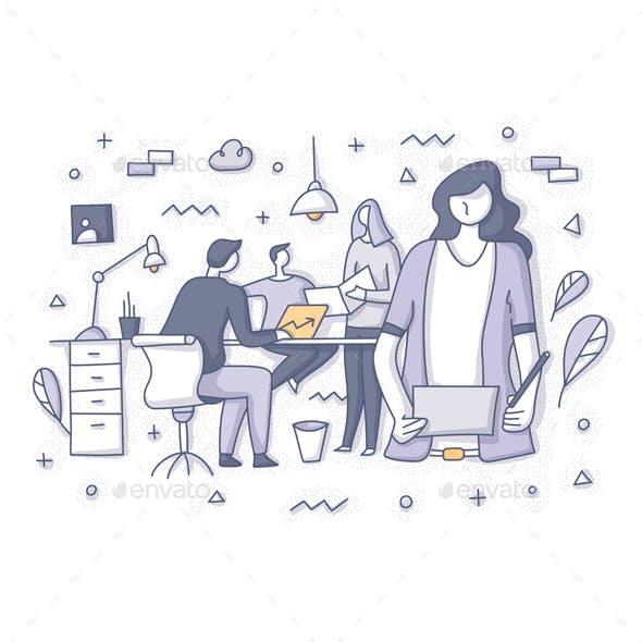 Team Workspace Concept