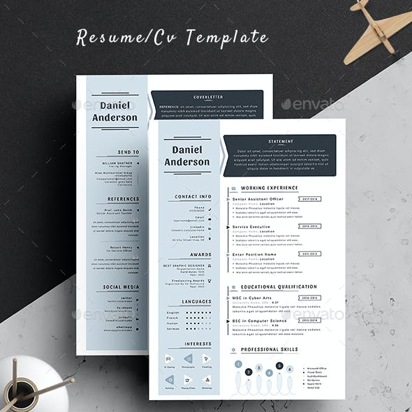 PowerPoint CV Graphics, Designs & Templates from GraphicRiver