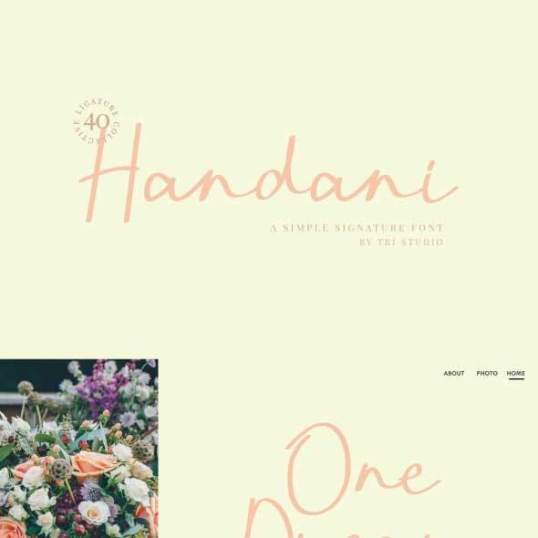 Handani Signature