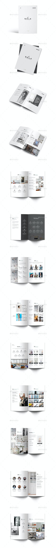 Nola Interior Design A4 Brochure - Brochures Print Templates