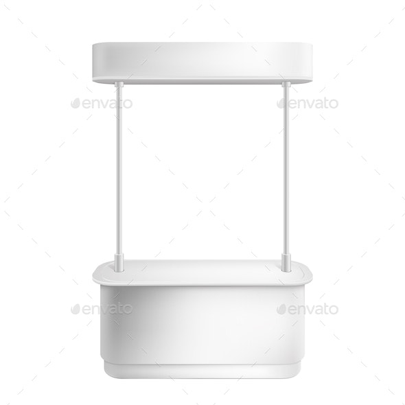 Empty Retail Stand - Concepts Business