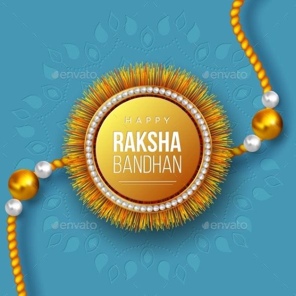 Happy Raksha Bandhan Festival Design - Religion Conceptual