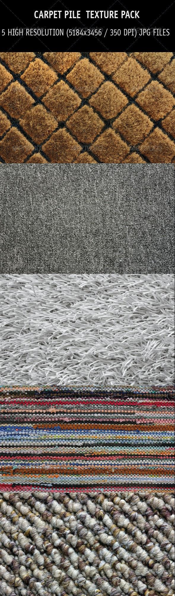 Carpet pile texture pack - Fabric Textures