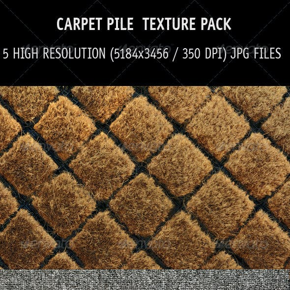 Carpet pile texture pack