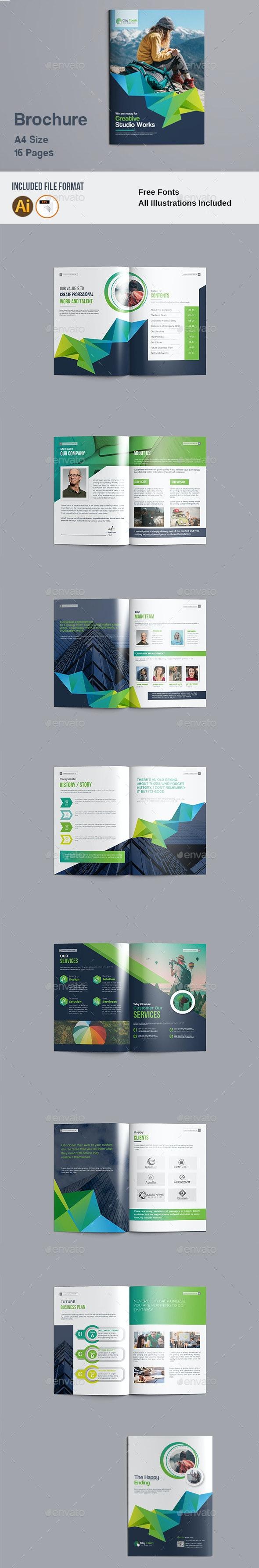 Brochure Templates - Brochures Print Templates