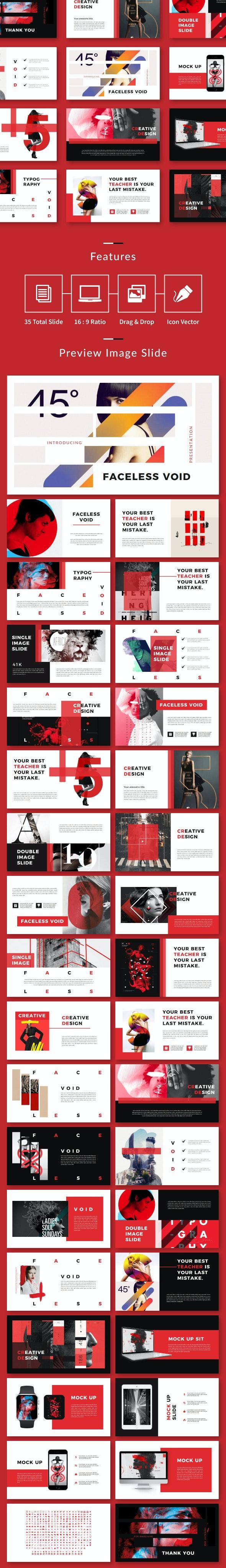 Void Creative Keynote - Creative Keynote Templates