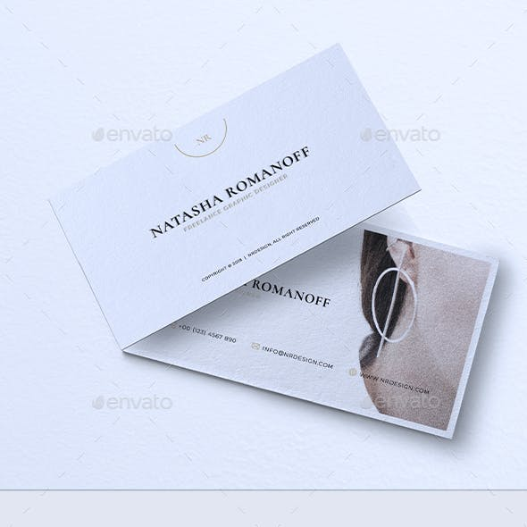 Minimalist Business Card Vol. 46
