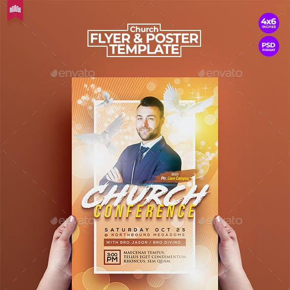 Church Conference - Flyer Template