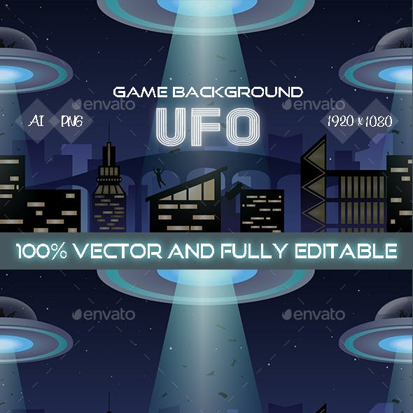 Game Background UFO