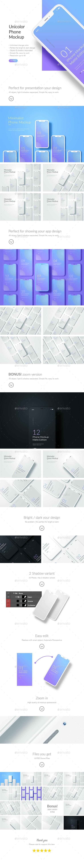 Phone Mockup / App Screen Mockup