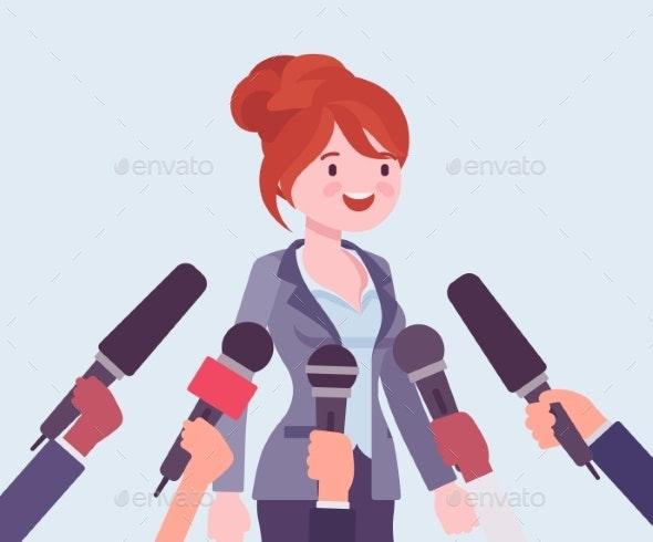 Tv Interview Microphones - Industries Business