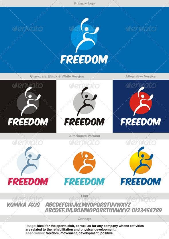 Freedom Logo - Humans Logo Templates