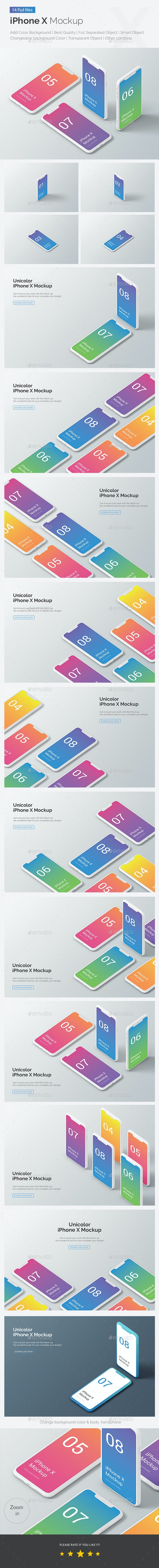 Phone Mockup - Product Mock-Ups Graphics