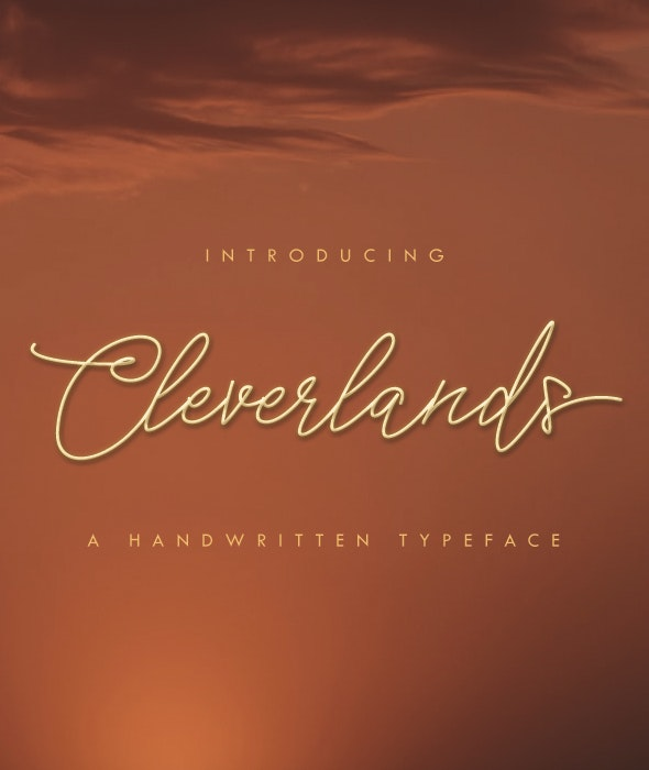 Cleverlands - Hand-writing Script