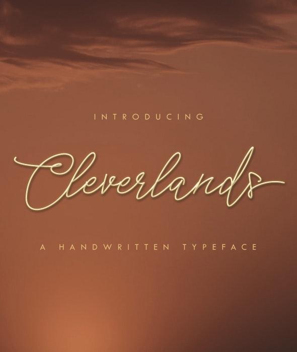 Cleverlands - Hand-writing Script