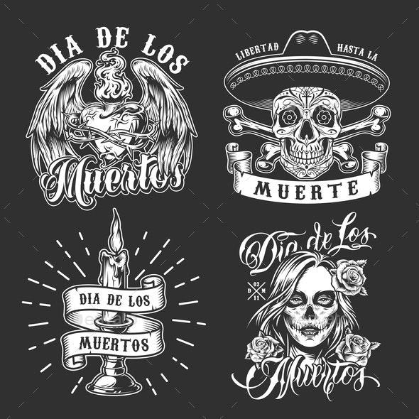 Dia De Los Muertos - Miscellaneous Vectors