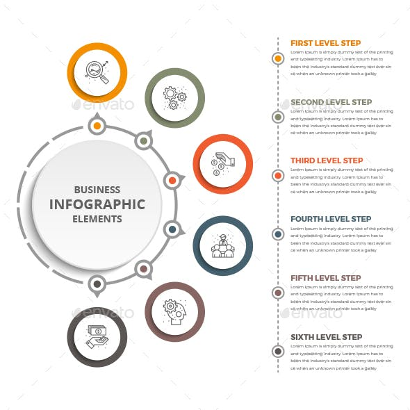Business Circle Infographics Template