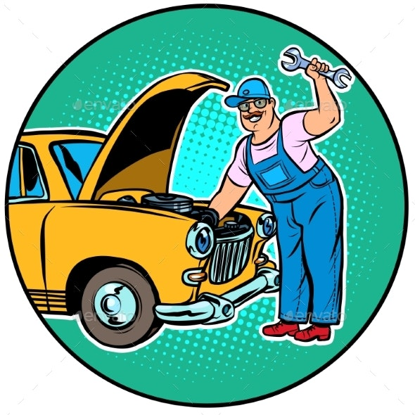 Master Car Repair - Man-made Objects Objects